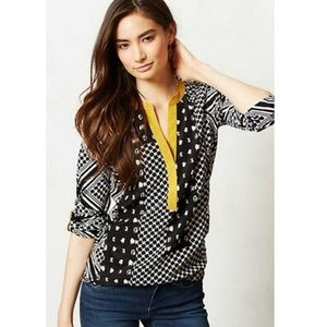Anthropologie TINY Zambi Popover Tunic Shirt